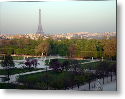 Paris Metal Print featuring the photograph Paris Autumn by A Morddel