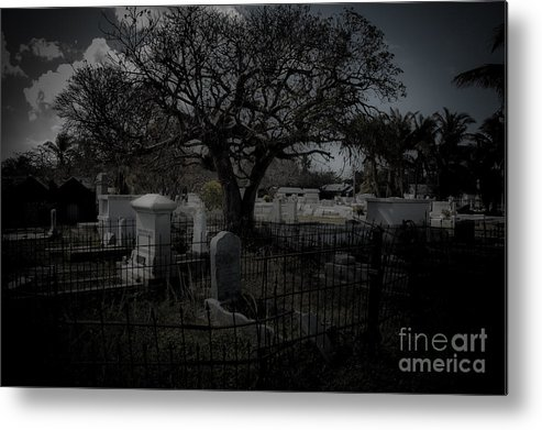 Cemetery Metal Print featuring the photograph Passage by Kathi Shotwell
