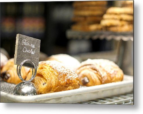 Patisserie Metal Print featuring the photograph Patisserie by Erin McCandless