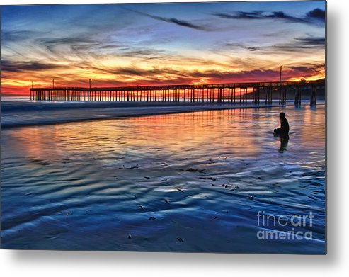 Peace Metal Print featuring the photograph Peace by Beth Sargent