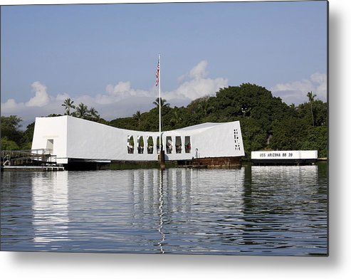 Pearl Harbor Metal Print featuring the photograph Pearl Harbor by Brad Maroney