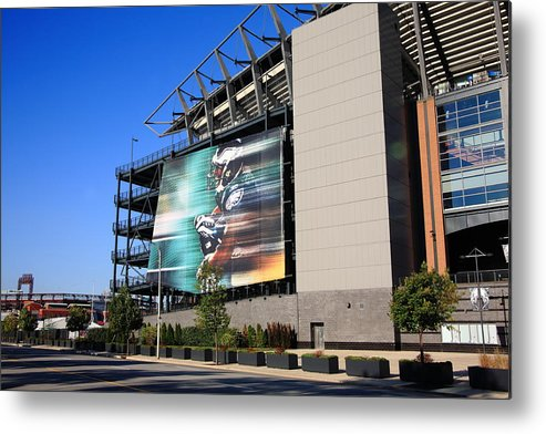America Metal Print featuring the photograph Philadelphia Eagles - Lincoln Financial Field by Frank Romeo