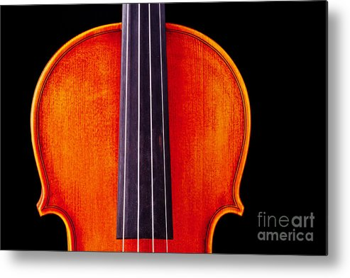 Violin Metal Print featuring the photograph Photograph Or Picture Violin Viola Body In Color 3367.02 by M K Miller