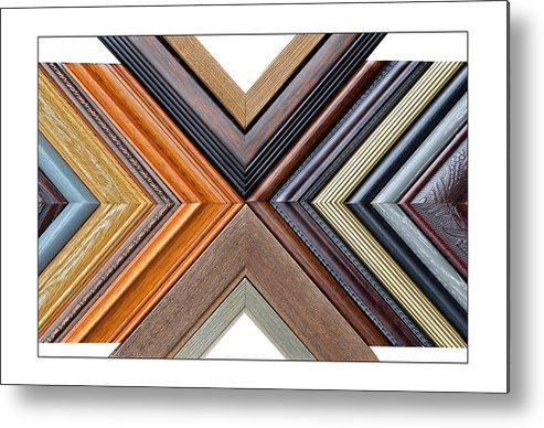 Art Metal Print featuring the photograph Picture Frame Art by Susan Leggett