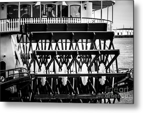 America Metal Print featuring the photograph Picture Of Natchez Steamboat Paddle Wheel In New Orleans by Paul Velgos