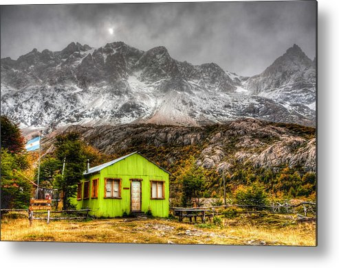 Argentina Metal Print featuring the photograph Piedra Del Fraile by Roman St