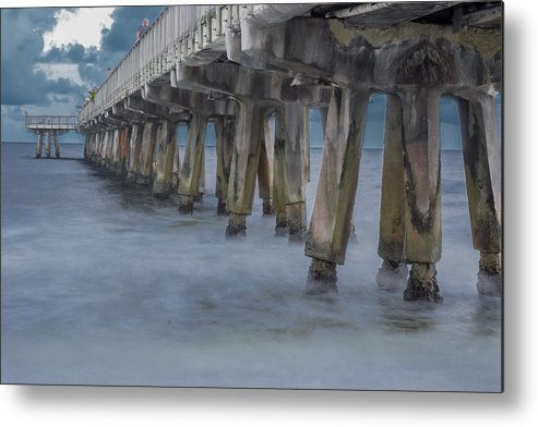 Pier Metal Print featuring the photograph Pier Series 5 by Alvaro Iribarren