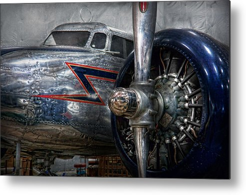 Plane Metal Print featuring the photograph Plane - Hey Fly Boy by Mike Savad