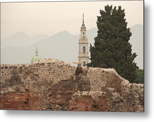 Pompeii Metal Print featuring the photograph Pompeii And Beyond by Doug Davidson