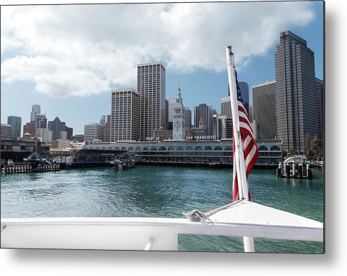 Boat Metal Print featuring the photograph Port Of San Francisco by Jo Ann Snover