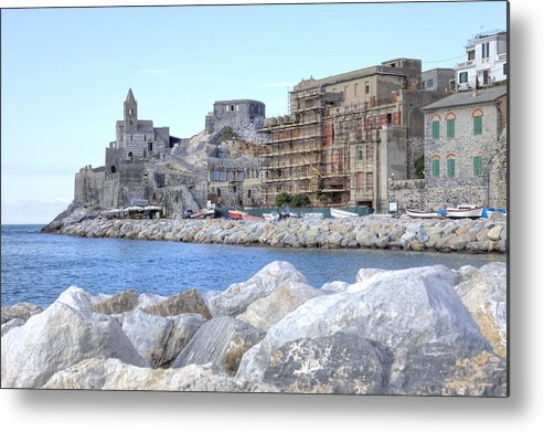 Porto Venere Metal Print featuring the photograph Porto Venere by Joana Kruse