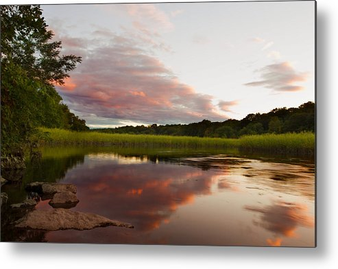 Sunset Metal Print featuring the photograph Pratt Cove Sunset by Jonathan Steele