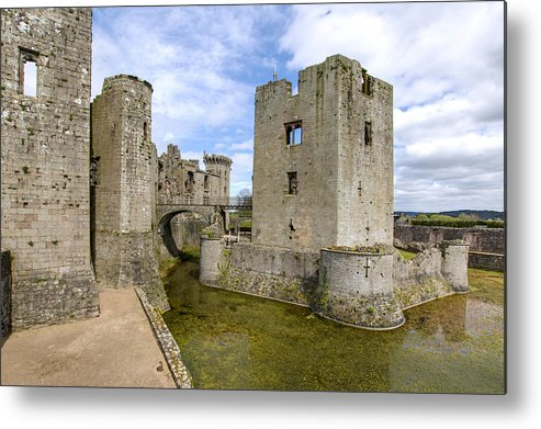 Raglan Metal Print featuring the photograph Raglan Castle - 5 by Paul Cannon