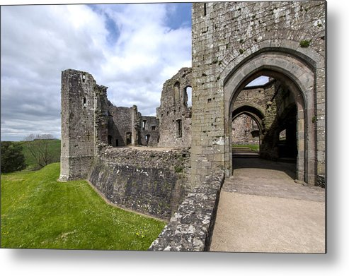 Raglan Metal Print featuring the photograph Raglan Castle - 6 by Paul Cannon