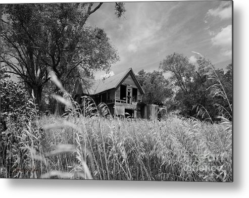 Landscape Metal Print featuring the photograph Real Estate by Joe Russell