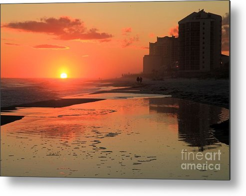 Gulf Islands National Seashore Metal Print featuring the photograph Reflections At Perdido Key by Adam Jewell