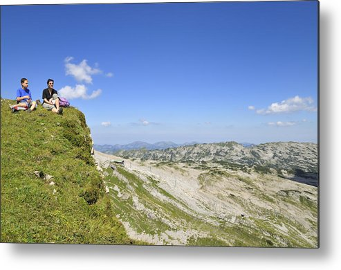 Allgaeu Metal Print featuring the photograph Rest In Beautiful Mountain Landscape by Matthias Hauser