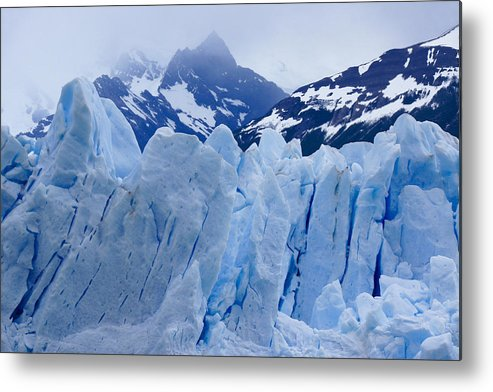 Argentina Metal Print featuring the photograph Rhapsody In Blue by Michele Burgess