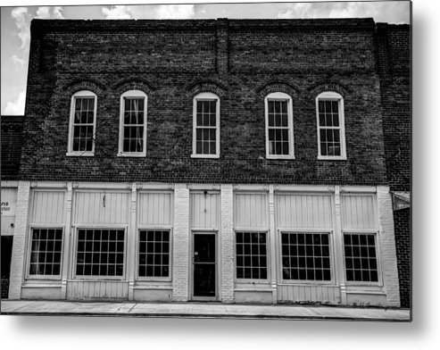 Landscape Metal Print featuring the photograph Robbie's Furniture Store by Bill Cantey