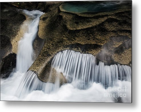 America Metal Print featuring the photograph Rocks In Paradise by Inge Johnsson