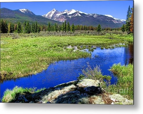 Colorado Metal Print featuring the photograph Rocky Mountains River by Olivier Le Queinec