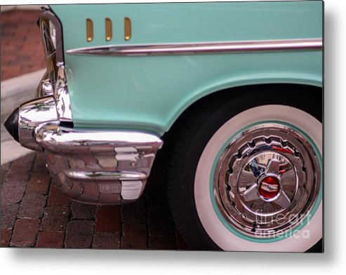 Cars Metal Print featuring the photograph Rolling Along by Amanda Sinco