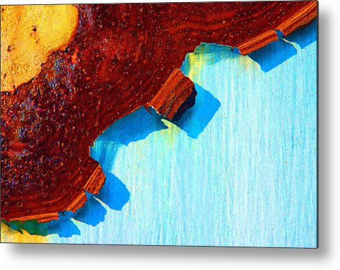 Paint Metal Print featuring the photograph Rust Art by Mike Flynn