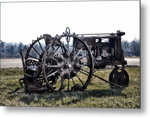 Rust In Peace Metal Print featuring the photograph Rust In Peace by Bill Cannon