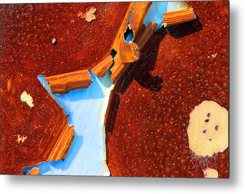 Paint Metal Print featuring the photograph Rust by Mike Flynn