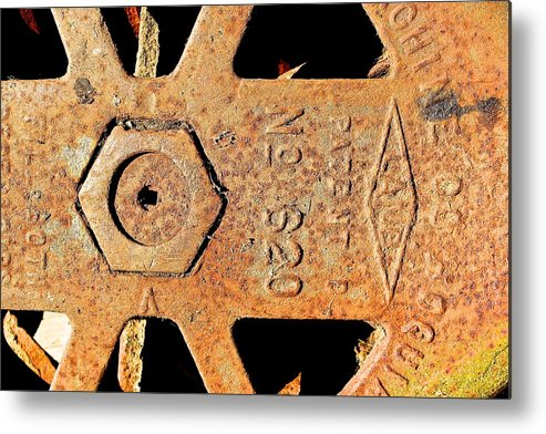 Rusty Steel Bc Coast Ships Metal Print featuring the photograph Rusty Steel by Brian Sereda
