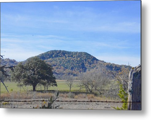 Metal Print featuring the photograph Sabinal Country by Ricky Cerda