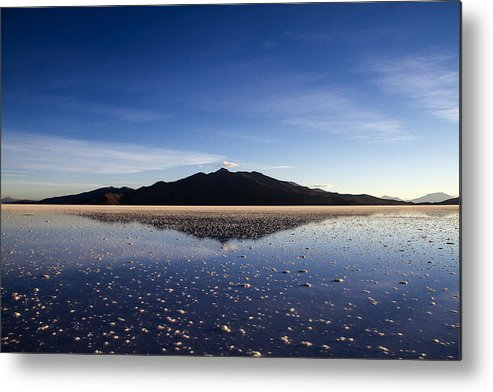 Harvest Metal Print featuring the photograph Salt Cloud Reflection by For Ninety One Days