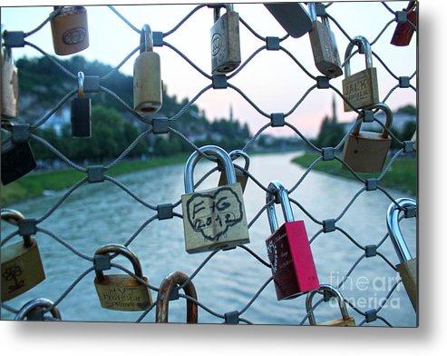 Gypsy Locks Metal Print featuring the photograph Salzburg Gypsy Locks by Gregory Dyer