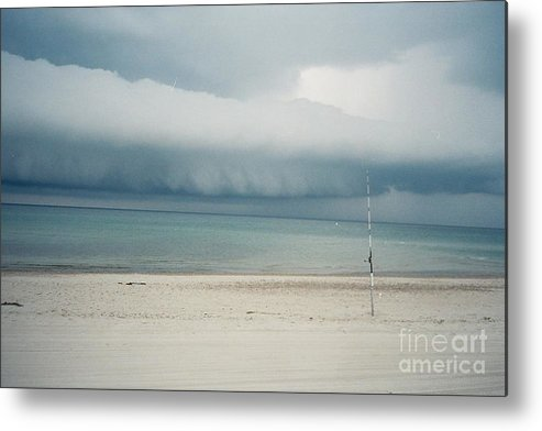 Sandy Neck Beach Metal Print featuring the tapestry - textile Sandy Neck Beach Sandwich by Lisa Marie Germaine
