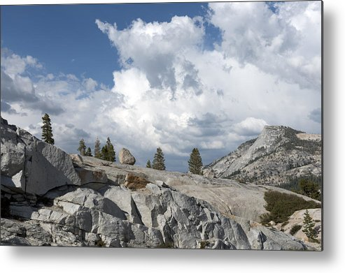 Yosemite Metal Print featuring the photograph Scenic View In Yosemite National Park by Carol M Highsmith