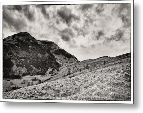 hill Top Metal Print featuring the photograph Scottish Peaks 3 by Lenny Carter