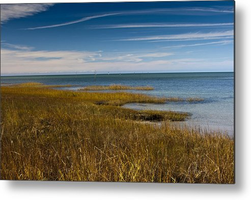 Rock Harbor Metal Print featuring the photograph Seascape 2 by Dennis Coates