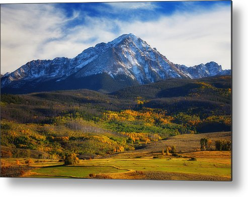 Autumn Landscapes Metal Print featuring the photograph Seasons Change by Darren White