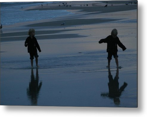 Twins Metal Print featuring the photograph Seeing Double by Michele Embry
