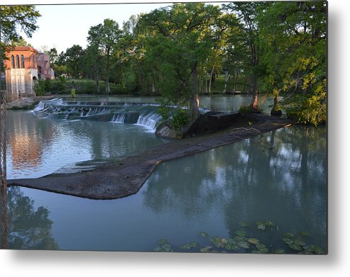 Architectur Metal Print featuring the photograph Seguin Tx 01 by Shawn Marlow