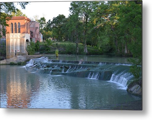 Architectur Metal Print featuring the photograph Seguin Tx 02 by Shawn Marlow