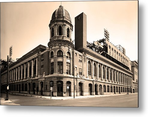 Shibe Park Metal Print featuring the photograph Shibe Park by Bill Cannon