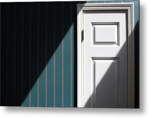House Metal Print featuring the photograph Shred Of Light by Penelope Murray