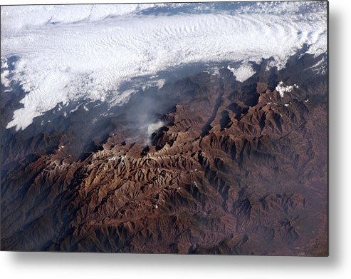 Mountain Metal Print featuring the photograph Sierra Nevada De Santa Marta by Nasa