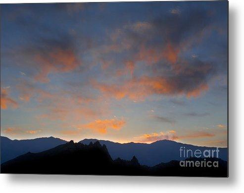 Landscape Metal Print featuring the photograph Sierra Nevada Sunrise by John Shaw