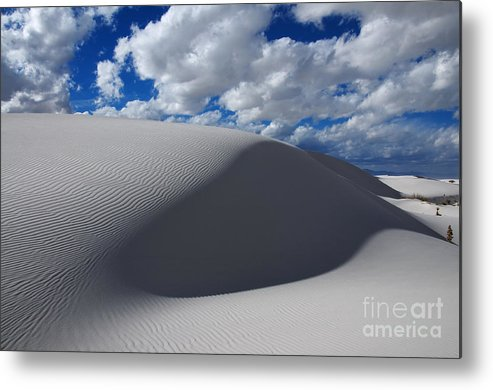 White Sands Metal Print featuring the photograph Simply Enchanted by Vivian Christopher