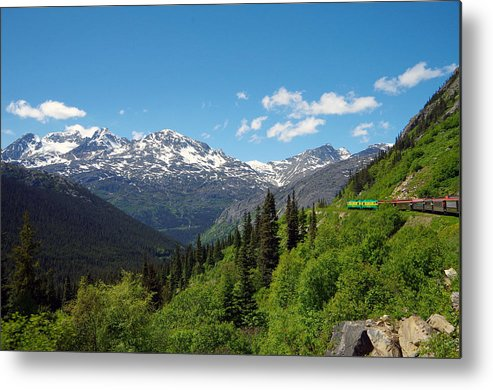 Railroad Metal Print featuring the photograph Skagway 7 by Harvey Dalley