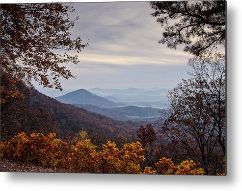 Skyline Drive Metal Print featuring the photograph Skyline Drive At Sunrise by Walt Baker