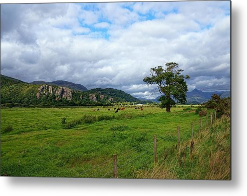 Snowdonia National Park Metal Print featuring the photograph Snowdonia by Lanis Rossi