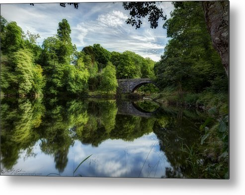 Summer Metal Print featuring the photograph Snowdonia Summer On The River by Beverly Cash